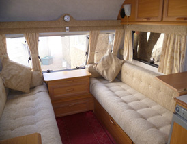 Touring Caravan Furnishings And Upholstery