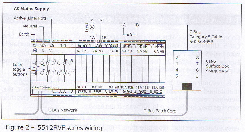 cbus relay wiring diagram