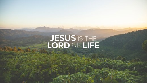 Jesus is the Lord of Life: Trust Him