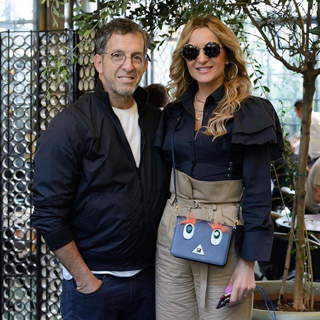 KENNETH COLE AND ME DURING MFW17
