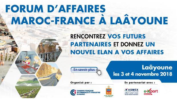 Forum de Partenariat Maroc-France CCI France International - Chambre De Commerce Francaise Maroc