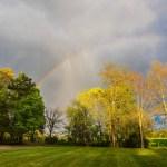 Raining through the rainbow