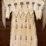 Indian dresses made from Buffalo hide