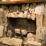 Petrified Forest fireplace