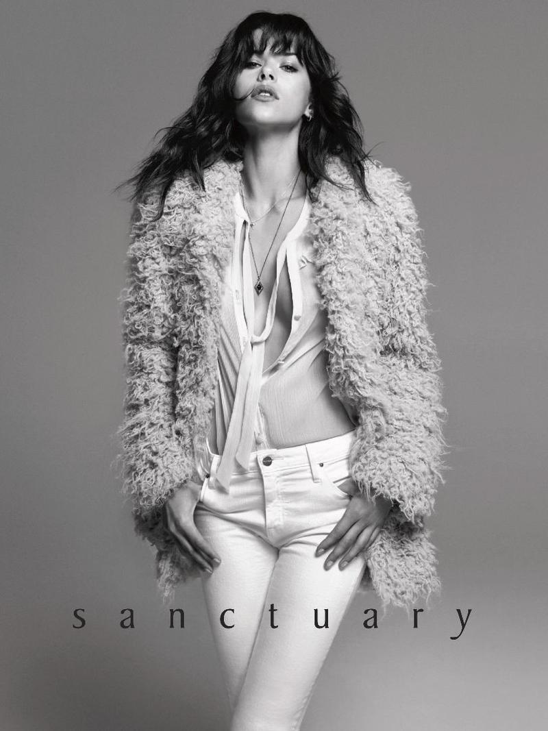 Georgia Fowler by Bjorn Iooss for Sanctuary Clothing F/W 16