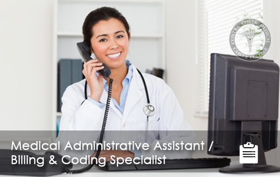 Medical Administrative Assistant / Billing  Coding Specialist - administrative assistant