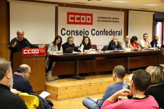 Consejo Confederal abril 2018
