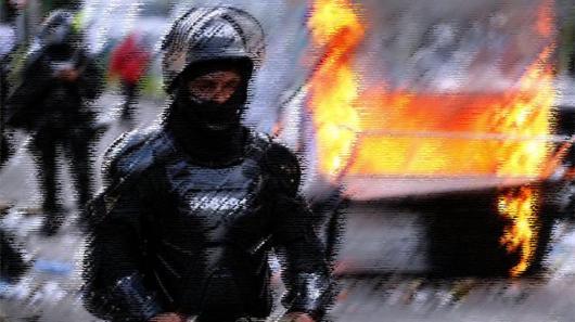 Violencia policial en Bogotá