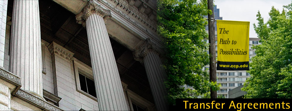 Transfer Agreements Community College of Philadelphia - transfer agreements