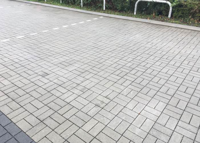 Commercial Pressure Washing – Car Dealership Cleaning