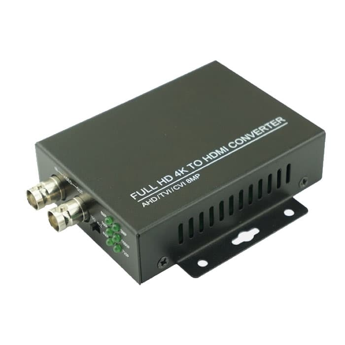 BNC to HDMI Converter, HD-TVI to HDMI, AHD to HDMI, HD-CVI to