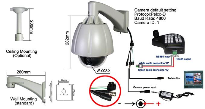 pelco ptz camera wiring diagram