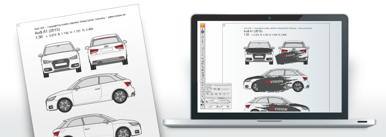ccvision Vehicle outlines » CAR 3D Online presentation