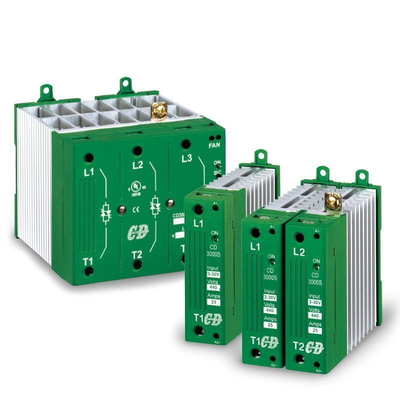 Thyristor Power Controller three phase two legs