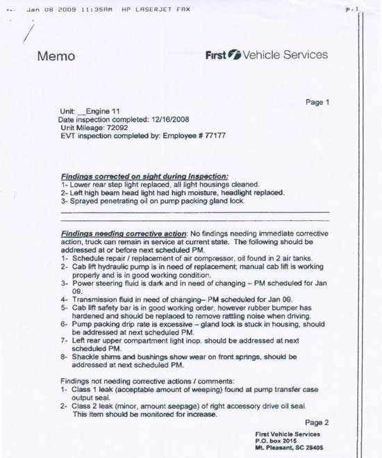 Fire Fighter Fatality Investigation Report F2007-18 CDC\/NIOSH - how to write an incident report