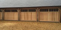 Wooden Garage | CDC Garage Doors
