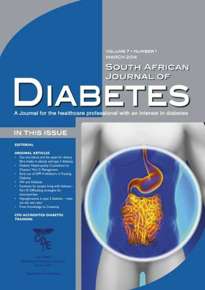 SA Journal of Diabetes | CDE Your Partner in Diabetes
