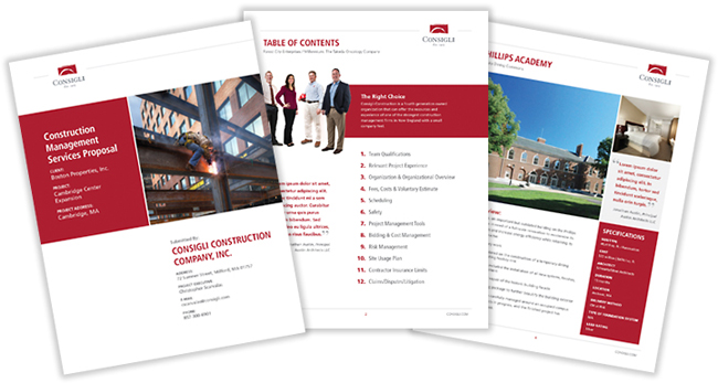 Design Proposals - real estate proposal template