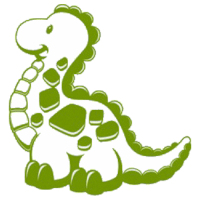 Dinosaur Sudden Shadows Giant Wall Decal