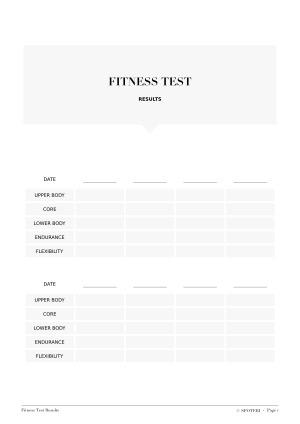 Workout Schedule Template Fitness Tracker - workout calendar template