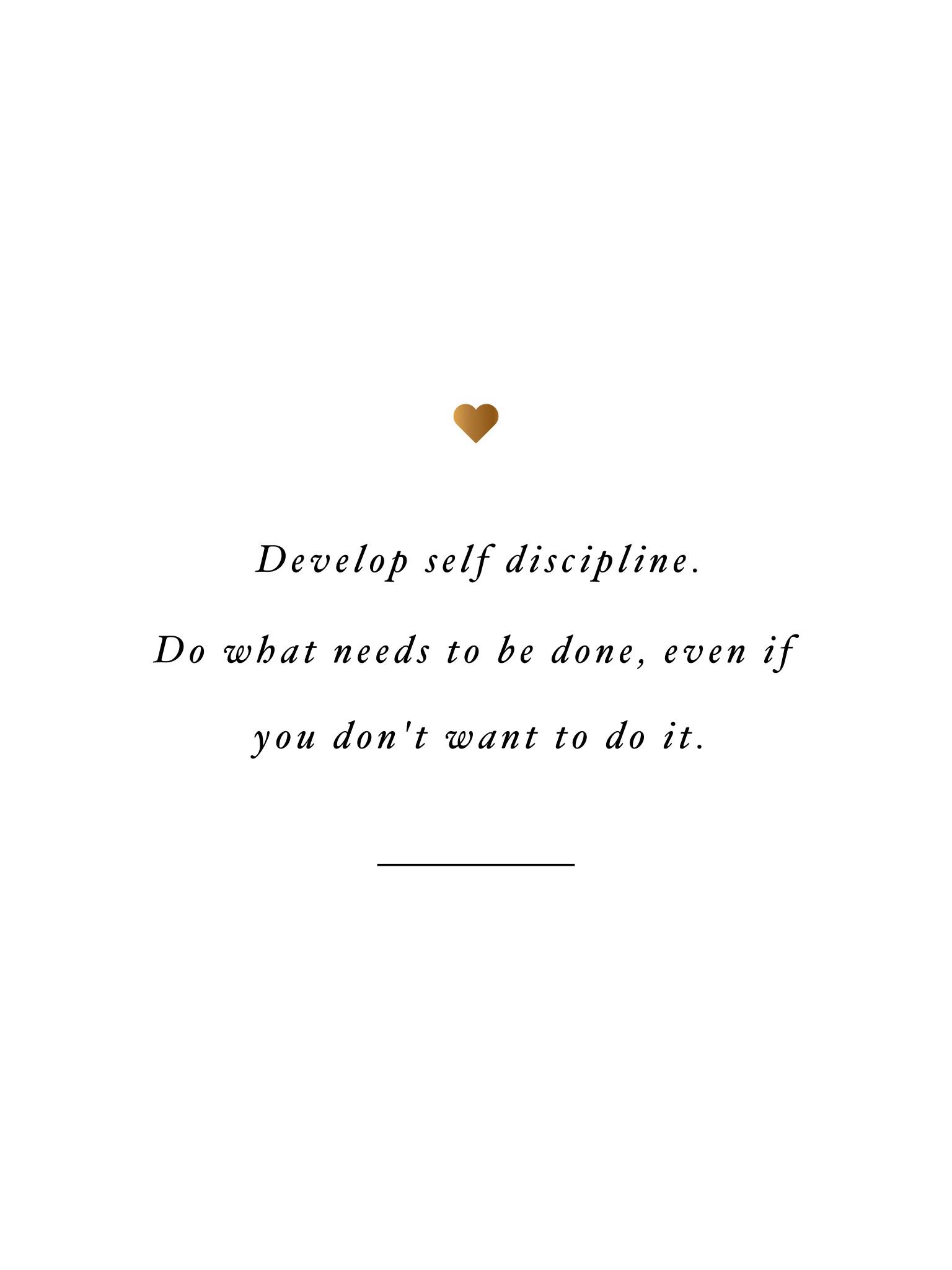 Self Motivation Quotes Wallpaper Develop Self Discipline Inspirational Wallpapers