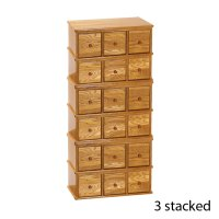 Distinctive Apothecary Style Storage Cabinet - Leslie Dame ...
