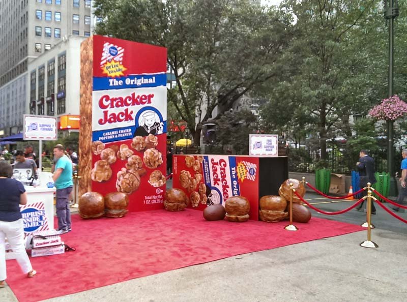 Event marketing displays, exhibits and graphics for brand
