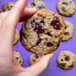Almond Buter Cookies @cearaskitchen #vegan #glutenfree #flourfree