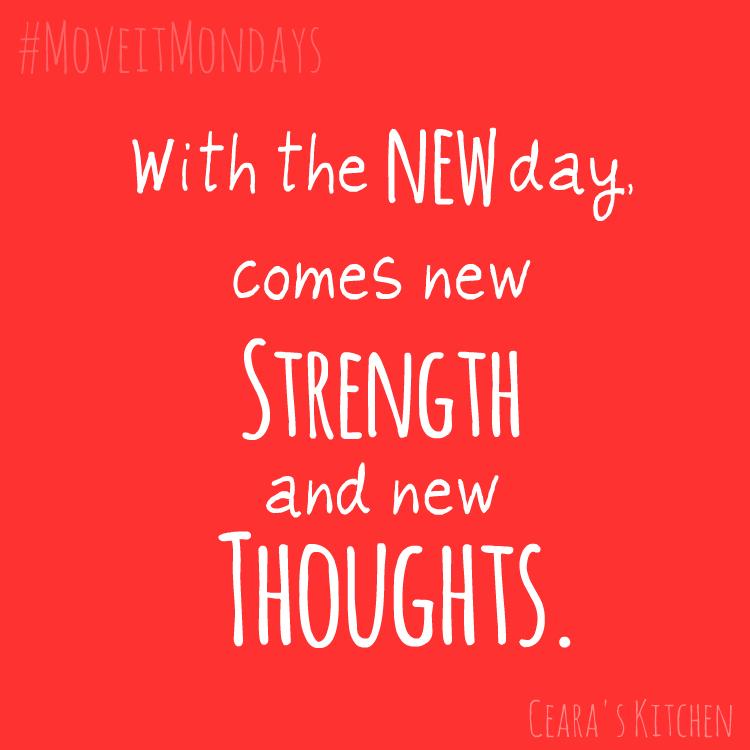 Weekend Eats  Fresh Start Mondays #MoveitMondays