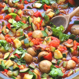 Healthy Pasta Primavera