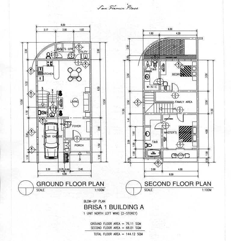electrical plan of condominium unit