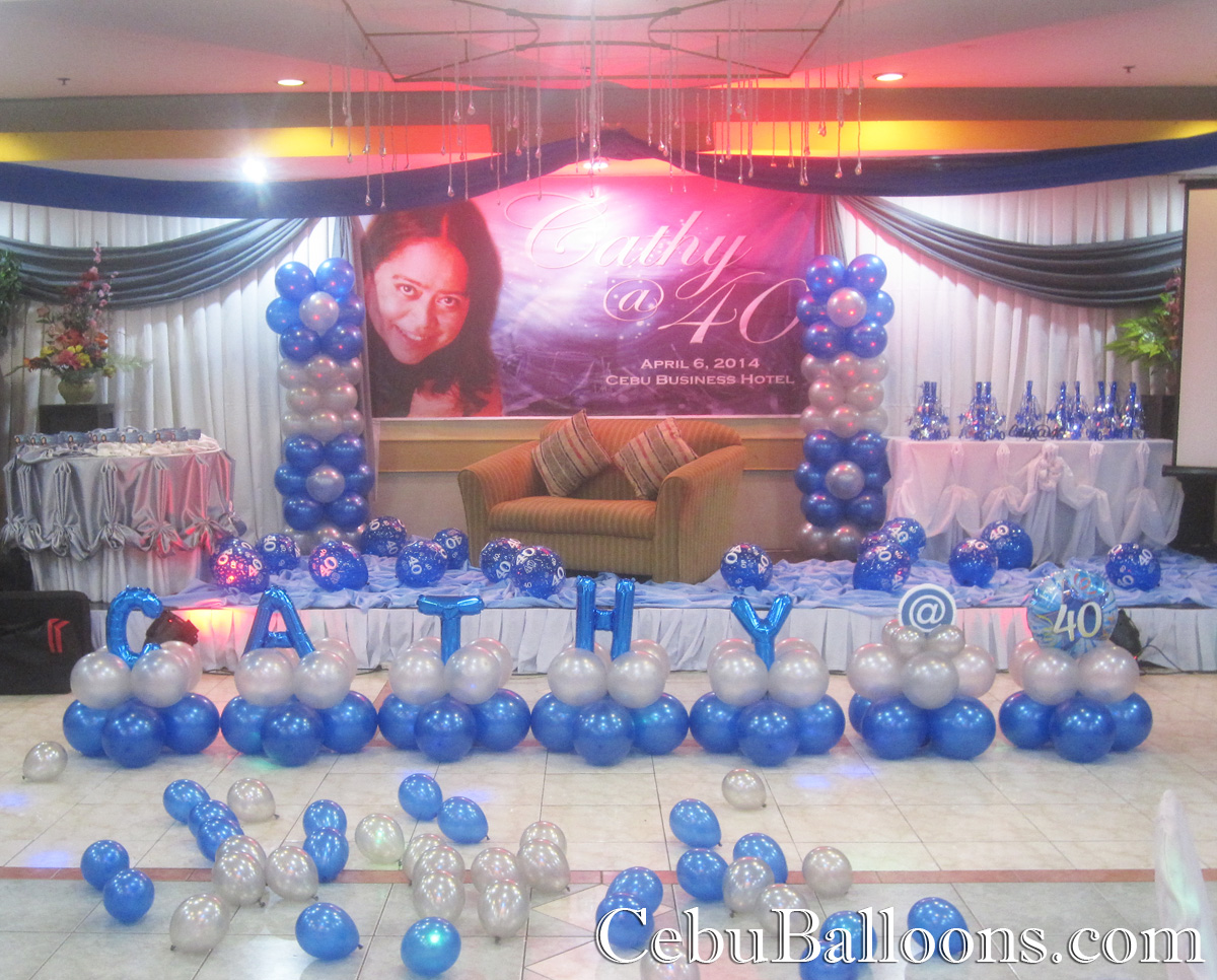 Balloon arrangements for birthday for Balloon decoration business
