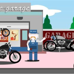 Garage Harley - fatti trovare nelle vicinanze - CecchiniSentieri.com