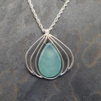 Turquoise Chalcedony in Sterling Silver