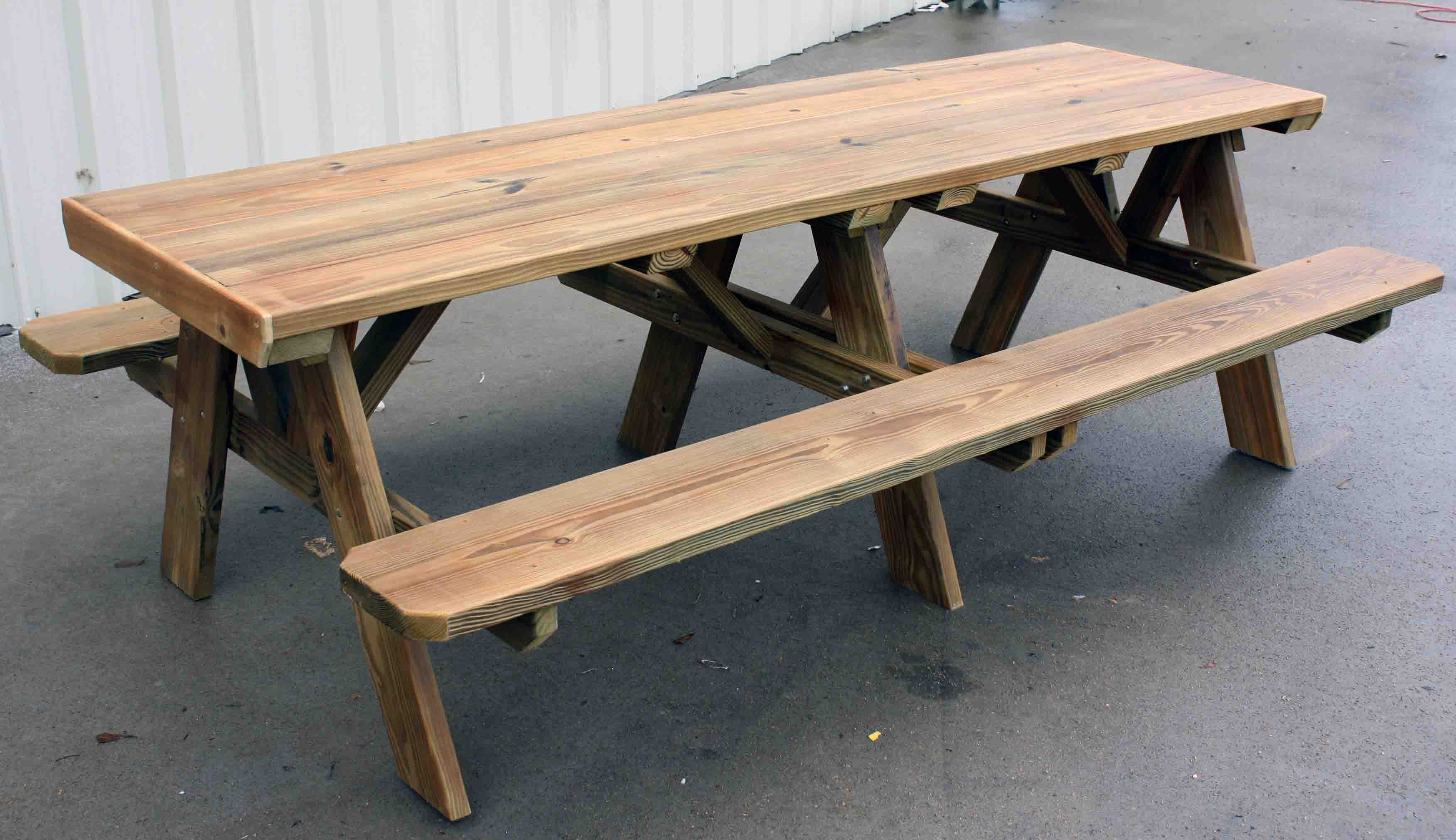 Sure Eight Foot Picnic Table Plans