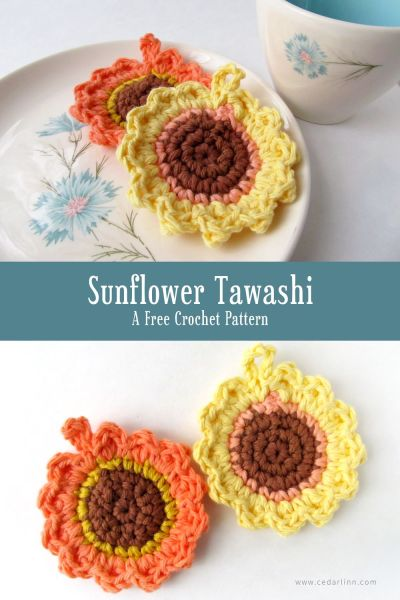 Sunflower Tawashi