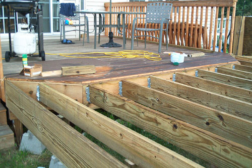 Barry39s Pool Deck Deck Project
