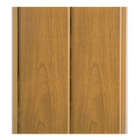 PVC Composite Beadboard Panels , Decorative Wood Wall