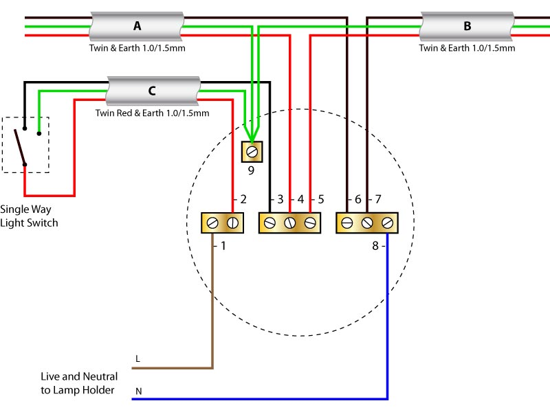 Wiring Diagram 1 Light 3 Switches Wiring Diagram