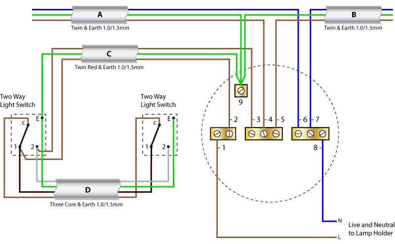 2 Way Toggle Switch Wiring Diagram Wiring Diagrams