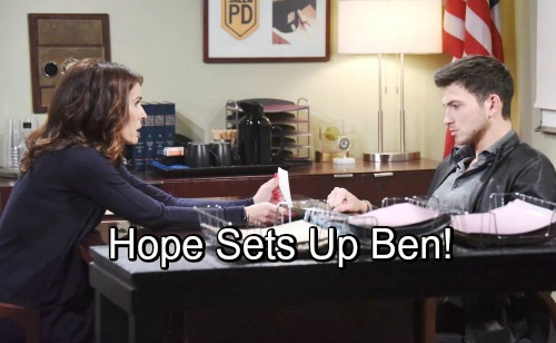 Days Of Our Lives Spoilers Desperate Hope Wants Ben Gone