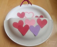 Valentines Day Heavy Duty Paper Plate Card Holder ...