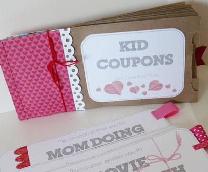 kids coupon book ideas - Alannoscrapleftbehind