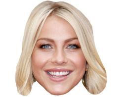 A Cardboard Celebrity Mask of Julianne Hough