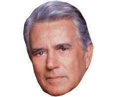 A Cardboard Celebrity Mask of John Forsythe