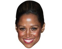 A Cardboard Celebrity Mask of Stacey Dash