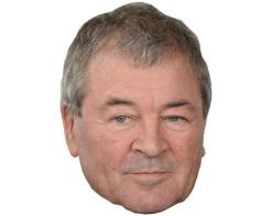 A Cardboard Celebrity Mask of Ian Gillan
