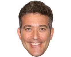 A Cardboard Celebrity Mask of Craig Bierko