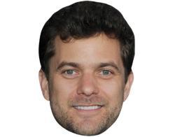 A Cardboard Celebrity Mask of Joshua Jackson