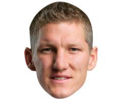 A Cardboard Celebrity Mask of Bastian Schweinsteiger